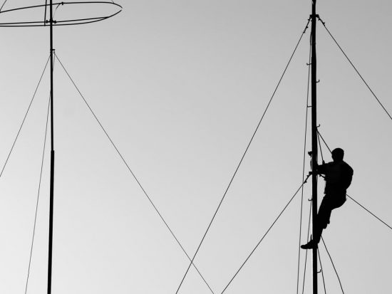 The Height of A VHF Radio Antenna Calculation