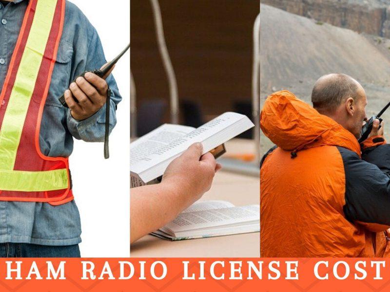 Ham license cost 2020